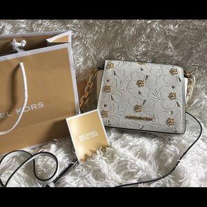 MICHAEL KORS Sofia Crossbody Handbag Messenger Bag